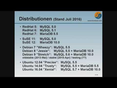 MySQL-Auswahl auch gegen die Distribution