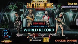 "[Hindi] PUBG MOBILE | WORLD RECORD ""INSANE 334 ZOMBIE KILLS"" IN DARKEST NIGHT ZOMBIE MODE"