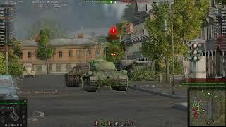 WOT. Знак классности Мастер. Танк - Т32. Карта - Энск.