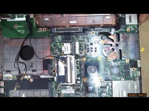 HP Elitebook 8570p Disassembly and fan cleaning  Laptop repair