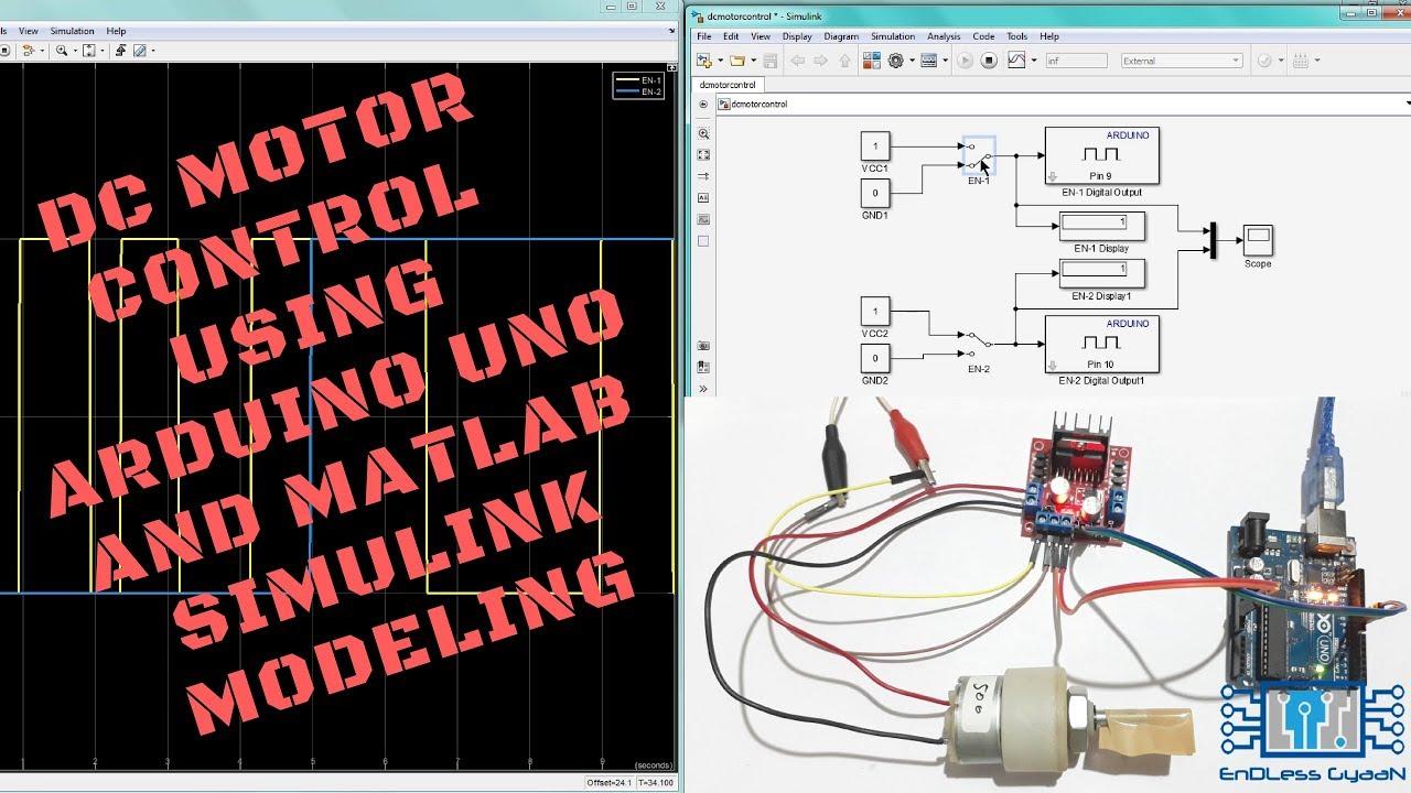 medium resolution of tutorial 6 dc motor control using arduino uno and matlab simulink modeling
