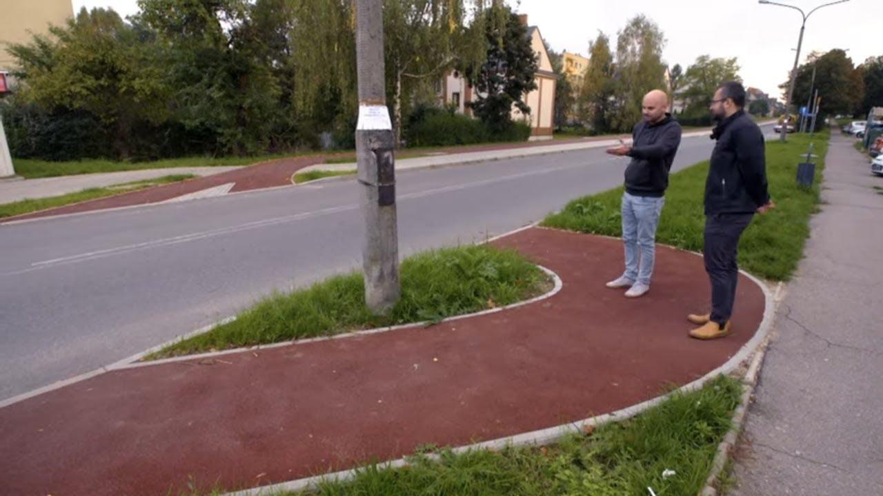 Legenda głosi, że to ścieżka rowerowa! #Absurdy_Drogowe