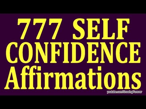 777 ★POWERFUL★ Self Confidence Affirmations - Get Success And Self Esteem Affirmation Video