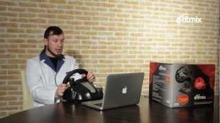 Лаборатория Ritmix_Выпуск 8: Игровой руль Ritmix и руд Gametrix
