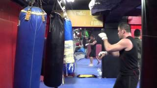 Japan Wolfman Sparring Loose 52 Distracting Hands Systema vs MMA Fighter