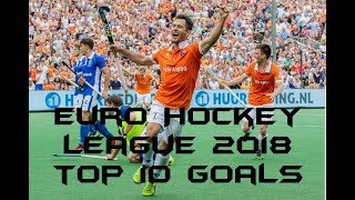 Euro Hockey League (EHL) 2018 | Top 10 Goals