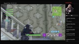 My first livestream(Fortnite)