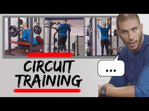 CIRCUIT TRAINING   A forgotten way to build muscle