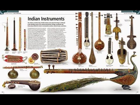 The World Of Indian Musical Instruments ! Flute, Marsing, Veena etc ! Name Part 1