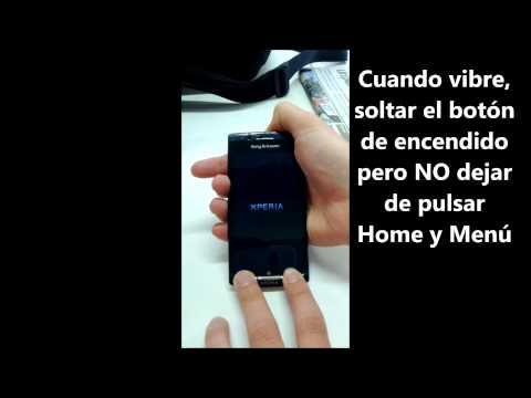 Hard Reset Sony Ericsson Xperia Arc S