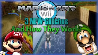 Mario Kart Wii - 3 NEW Glitches & How They Work!