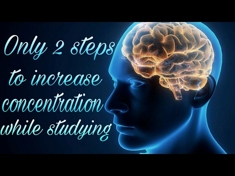 how to increase concentration while studying study method study tips youtube. Black Bedroom Furniture Sets. Home Design Ideas