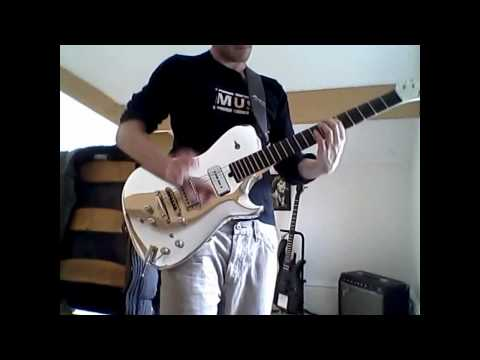 Muse United States of Eurasia Solo Cover (On Chrome Manson Guitar)