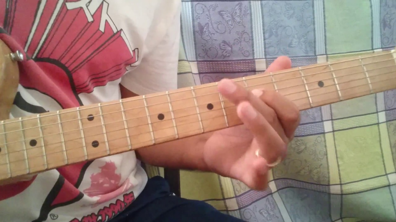 How To Play Act Naturally Lead Guitar The Beatles Youtube