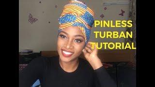 Download Video EASY Headwrap/Turban Tutorial (PINLESS) MP3 3GP MP4