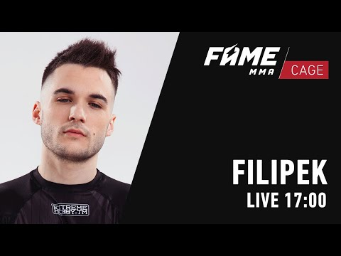 FAME MMA CAGE: Filip Filipek Marcinek