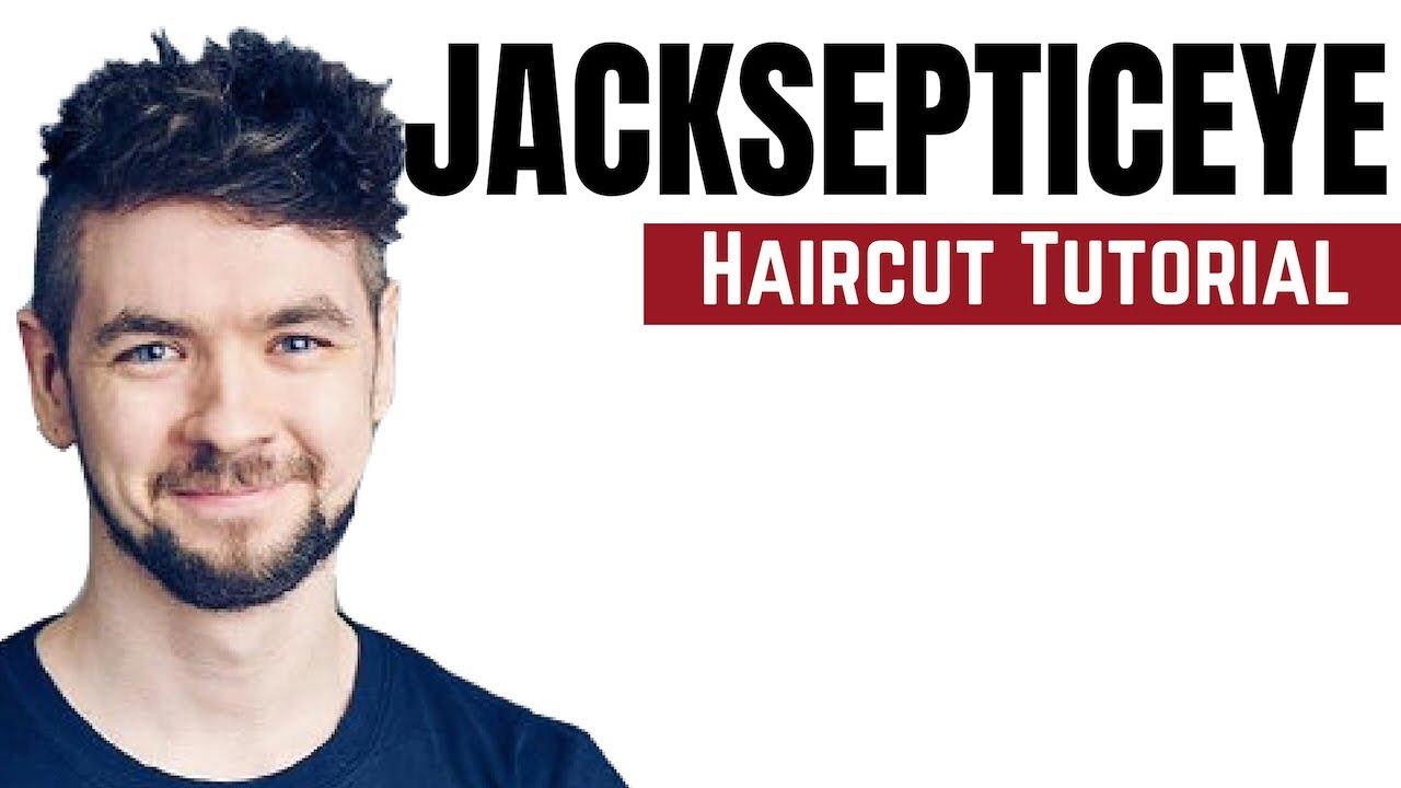 Jacksepticeye Haircut Tutorial , TheSalonGuy