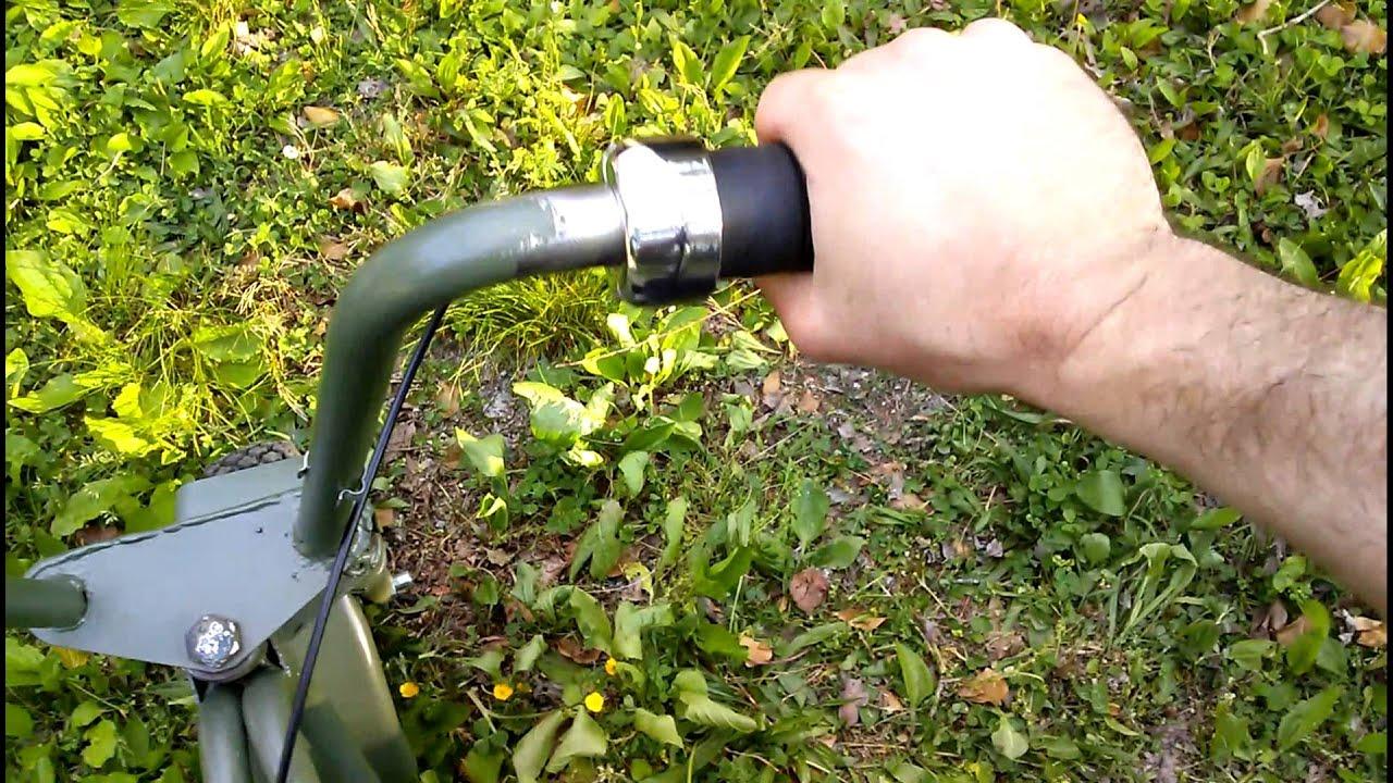 New Exhaust Pipe On El Tigre Mini Bike Youtube