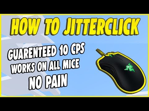 How To Jitterclick Like a PRO in MINECRAFT or FORTNITE!