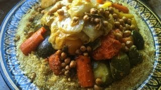 Moroccan Couscous With Vegetables And Beef الكسكس المغربي بالخضر