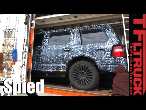 Is this the 2018 Ford Expedition Spied in the Wild? - YouTube
