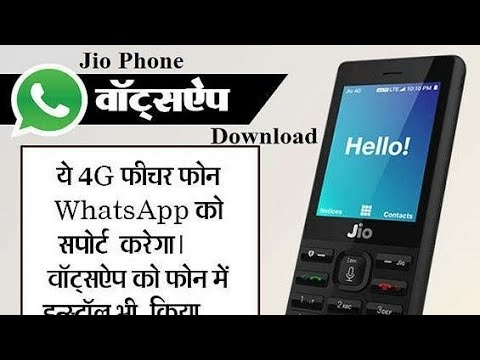 whatsapp install download jio phone