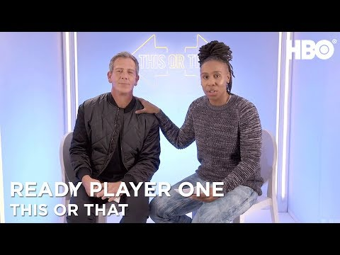 Ben Mendelsohn & Lena Waithe: This Or That | Ready Player One (2018) | HBO