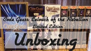 Code Geass: Lelouch of the Rebellion Limited Edition | Unboxing