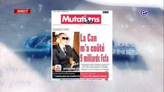 LA REVUE DES GRANDES UNES DU MARDI 11 DÉCEMBRE 2018 - ÉQUINOXE TV