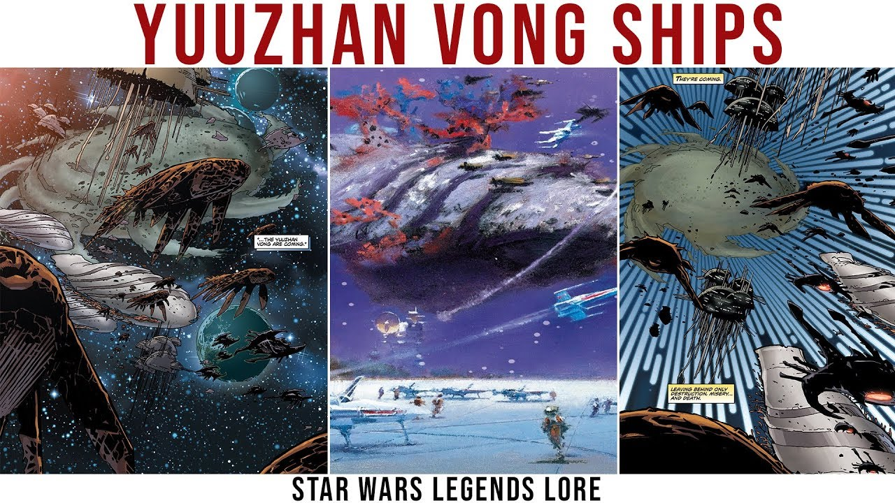 Yuuzhan Vong Ships and Technology Explained | Star Wars Legends Lore
