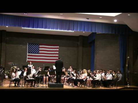 Accompsett Middle School - Mr Hacker's concert 5/24/17 3