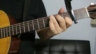 "Justin Bieber - ""Down To Earth"" How to Play Guitar (Easy!! Guitar Tutorial!!)"