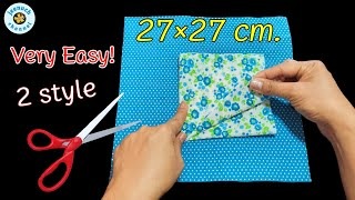 New Very Easy Pattern Face Mask Tutorial 100 NO FOG ON GLASSES DIY Face Mask Pattern Mask 3D