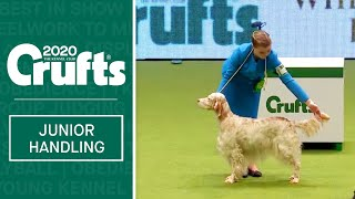 International Junior Handling Competition  Session 1 Part 1 | Crufts 2020