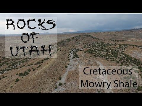 Cretaceous Mowry Shale - The Rocks of Utah