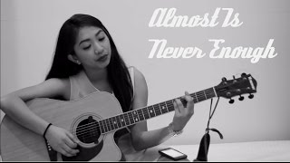 Almost Is Never Enough - Ariana Grande ft. Nathan Sykes | Peachy Anne Feliciano #OwnIt