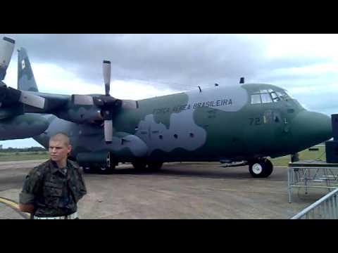 expoaer 2012 c130 Hércules, Blackhawk, Embraer E-99 FAB, P3AM ORION.