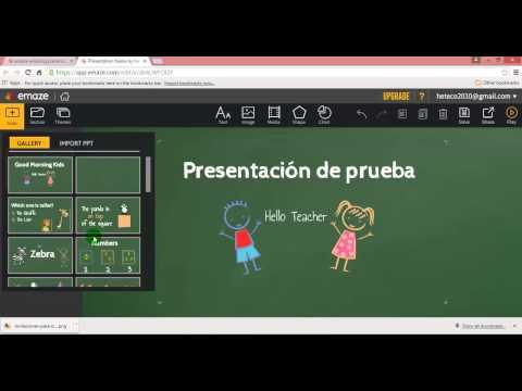 ¿Cómo crear una presentación en emaze?