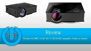 Mini Proyector UNIC UC46 Wi fi, LED, Miracast Airplay