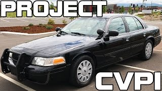 Project CVPI - What My Police Interceptor Came With