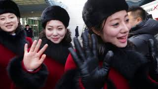 North Korea's cheerleaders steal the show at Winter Olympics