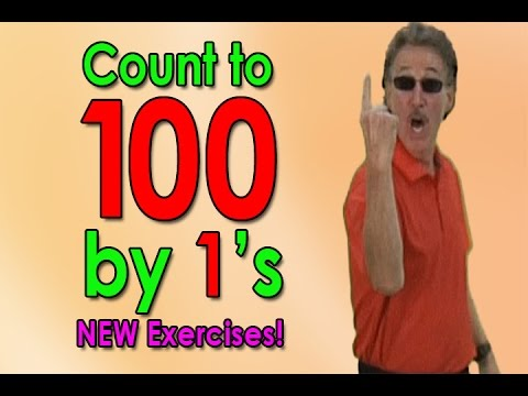 New Count To 100 Song  Lets Get Fit ver 2  Counting to 100  1s  Jack Hartmann