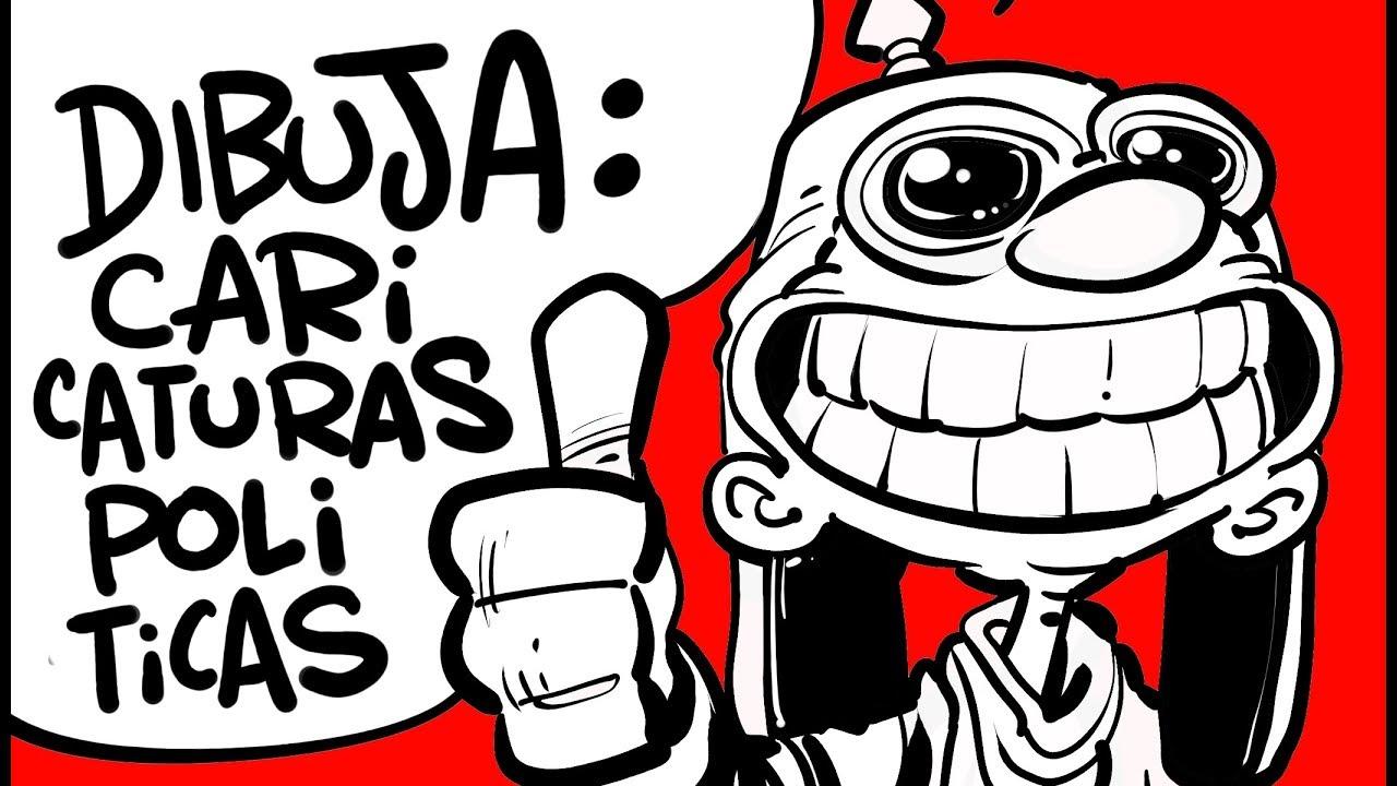 APRENDE A DIBUJAR CARICATURAS POLITICAS DIGITALES CON IVANEVSKY