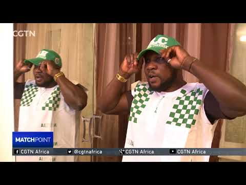 Nigerians in Moscow preparing cheering squad for their team