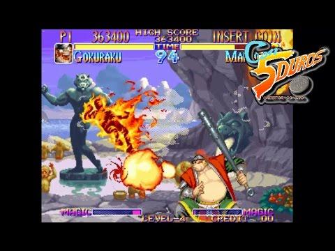 """KABUKI KLASH: FAR EAST OF EDEN  - """"CON 5 DUROS"""" Episodio 390 (+Strip Fighter 2 PC-Engine) (1cc)"""
