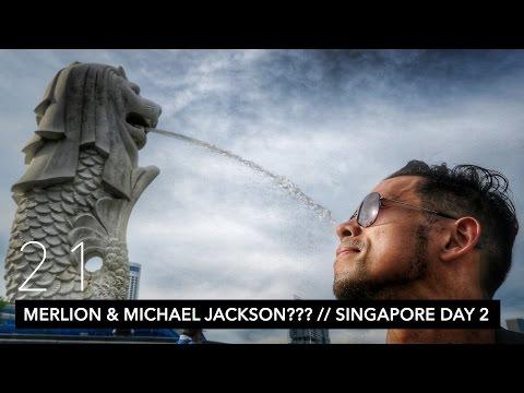 MERLION PARK, MARINA BAY, MUSEUM, & MICHAEL JACKSON? // SINGAPORE DAY 2 | VLOG 21