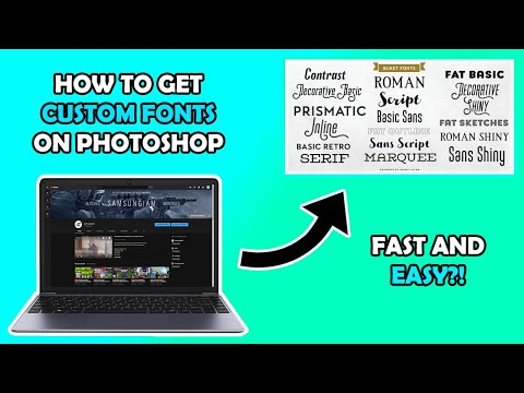 How To Install Fonts On Photoshop (Tutorial) 2019 thumbnail