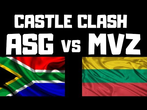 MVZ | Vs | Angrysagamer | Castle Clash | Who Is The Best???