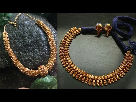 Traditional Indian Gold Jewellery Designs