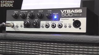 New Affordable Tech 21 VT Bass 500 Micro Amp Head & B112 Speaker Cabinet - Musikmesse 2015